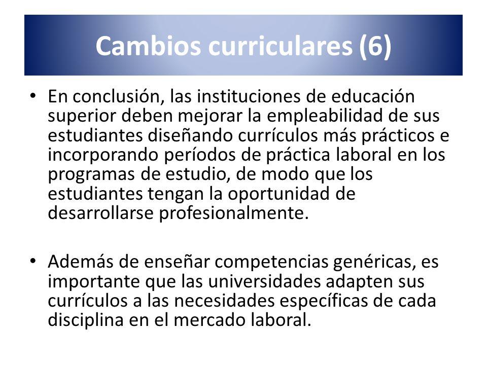 Cambios curriculares (6)