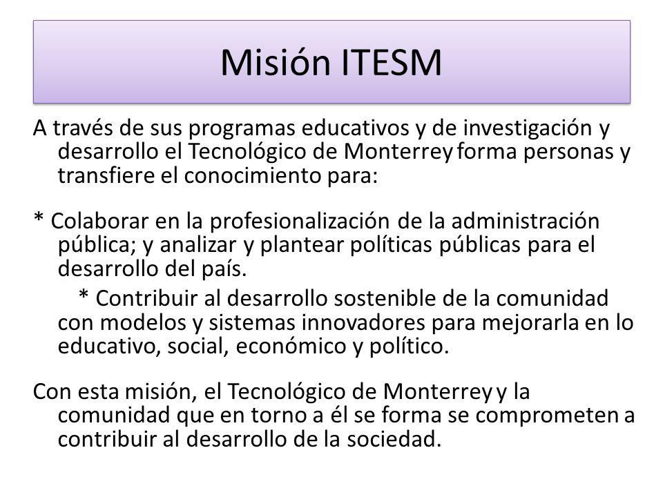 Misión ITESM