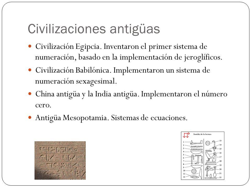 Civilizaciones antigüas