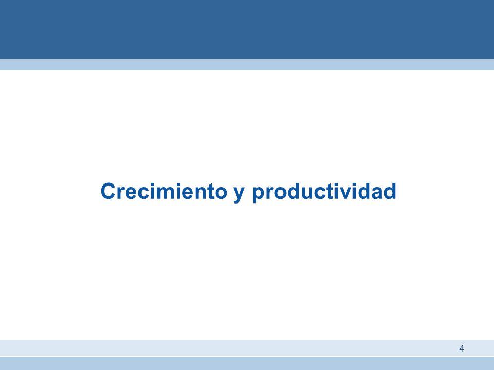Crecimiento y productividad