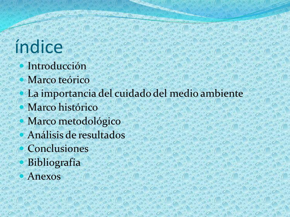índice Introducción Marco teórico