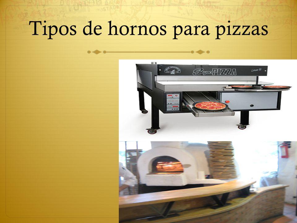 Tipos de hornos para pizzas