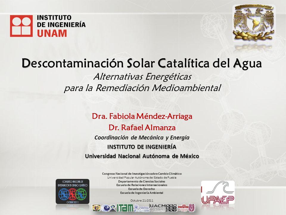 Descontaminación Solar Catalítica del Agua