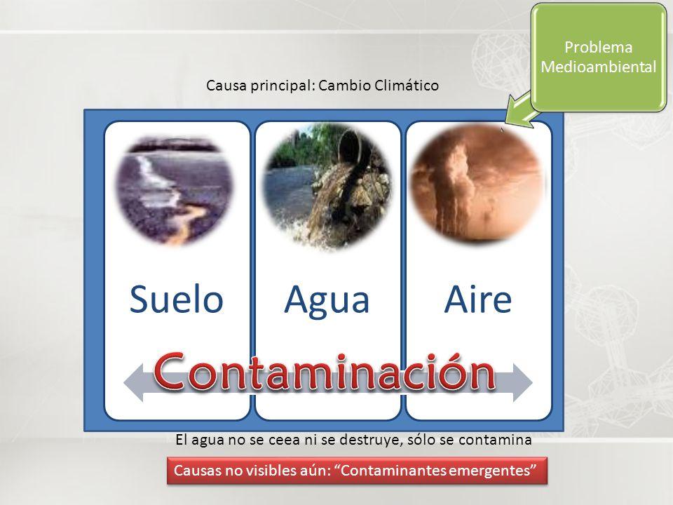 Contaminación Causa principal: Cambio Climático