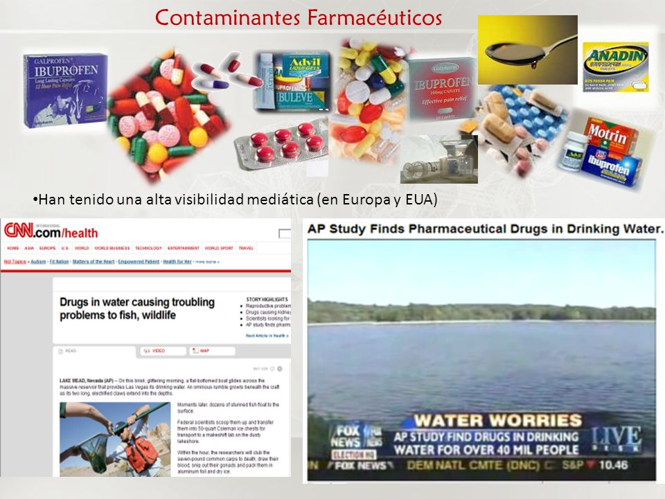 Contaminantes Farmacéuticos