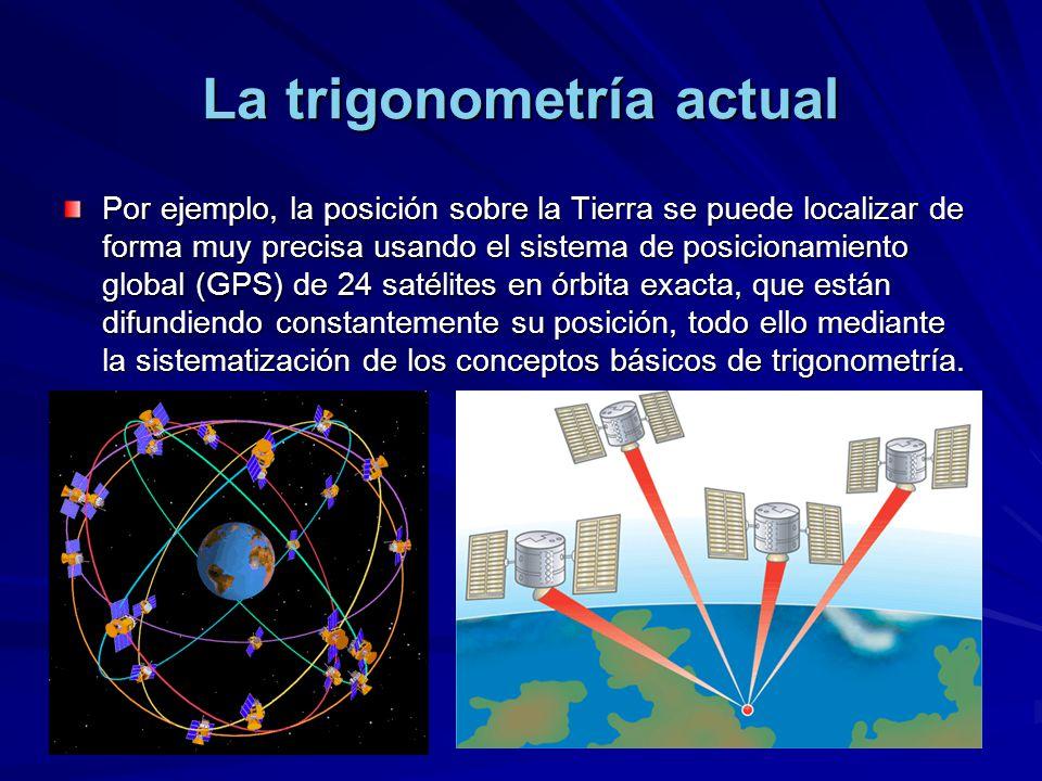 La trigonometría actual