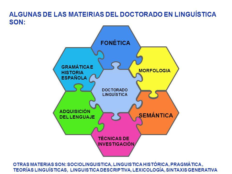 DOCTORADO LINGUÍSTICA