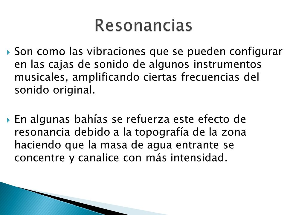 Resonancias