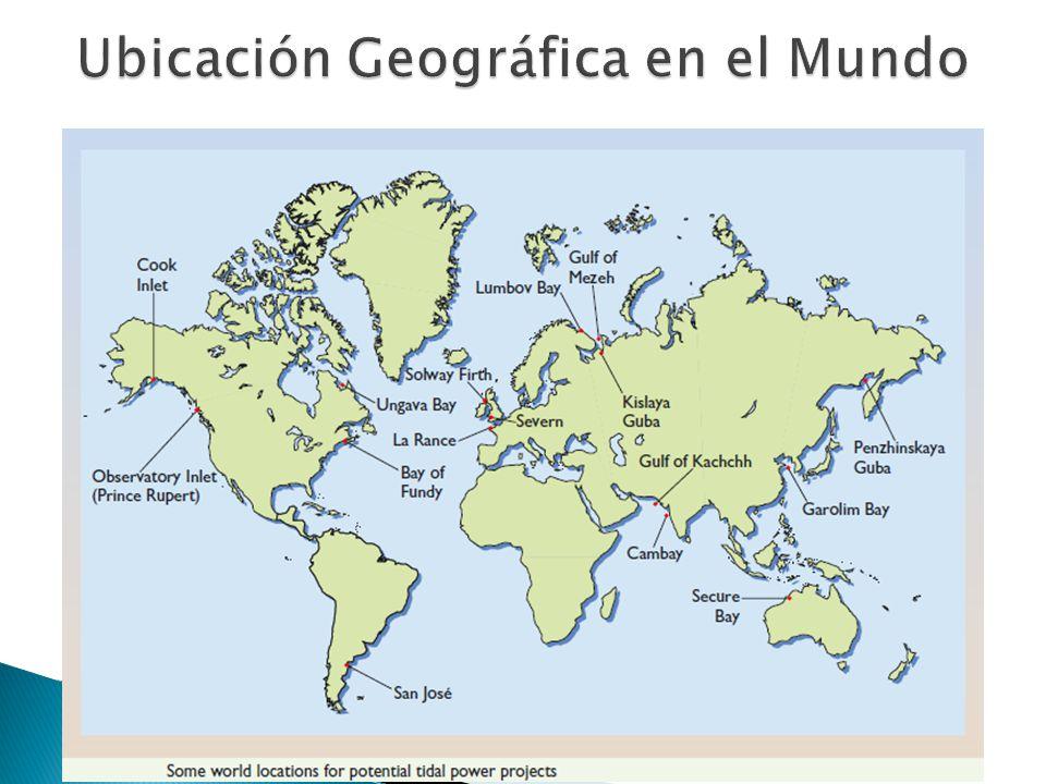 Ubicación Geográfica en el Mundo