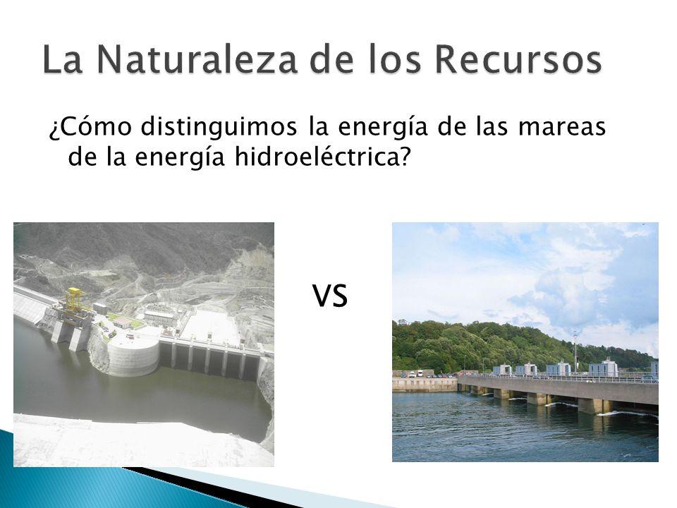 La Naturaleza de los Recursos