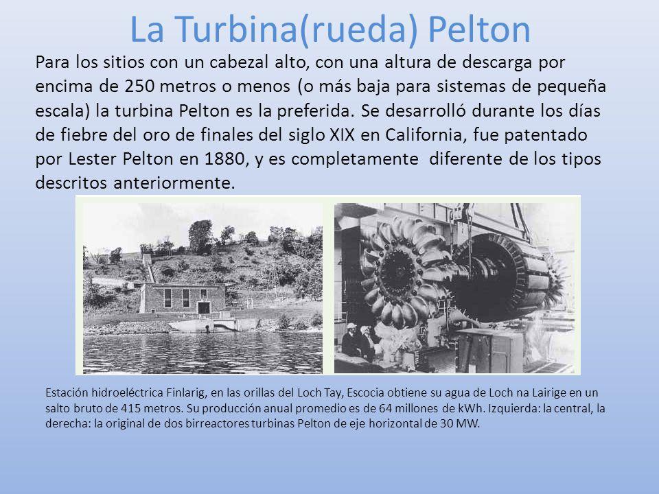 La Turbina(rueda) Pelton