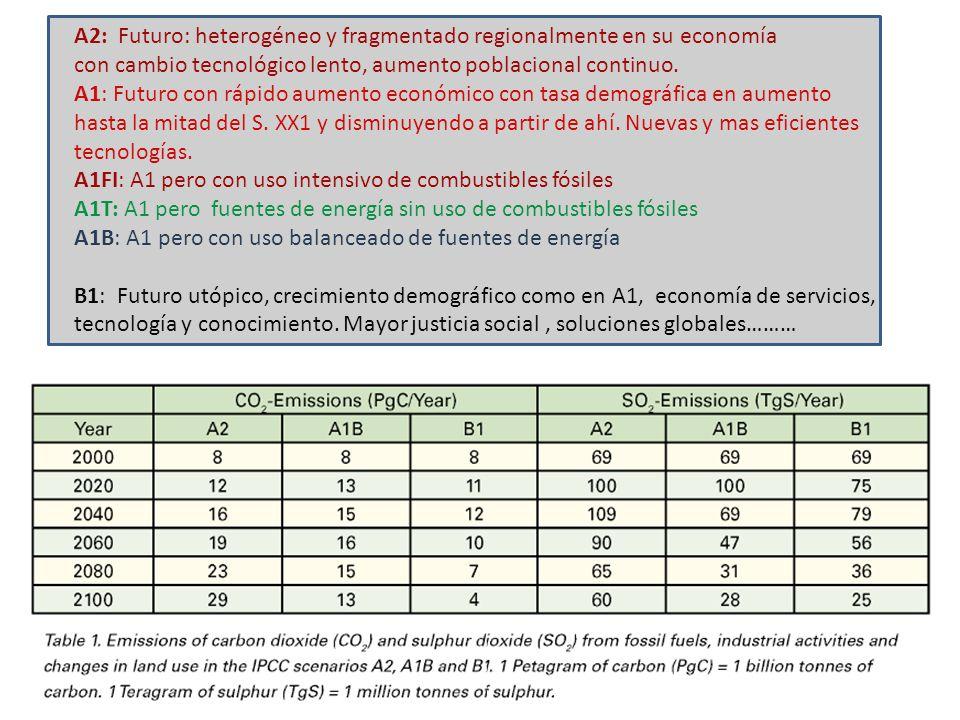 A2: Futuro: heterogéneo y fragmentado regionalmente en su economía