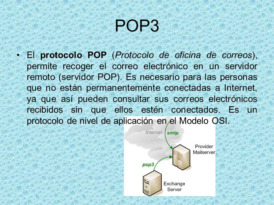 Smtp ppt descargar for Protocolo pop