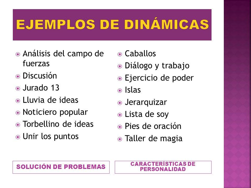 CARACTERÍSTICAS DE PERSONALIDAD