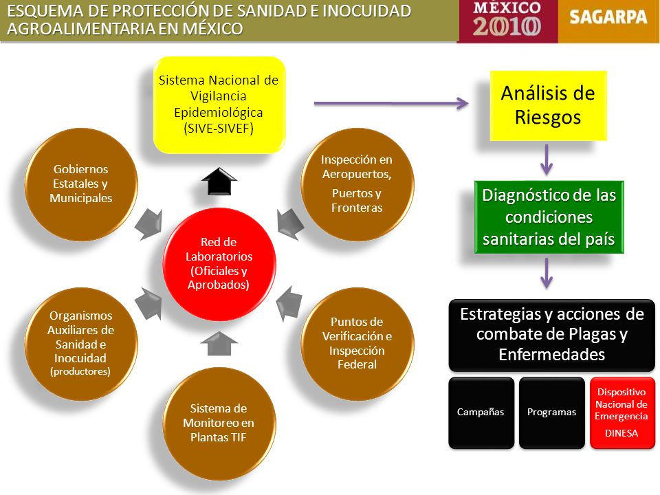 ESQUEMA DE PROTECCIÓN DE SANIDAD E INOCUIDAD AGROALIMENTARIA EN MÉXICO