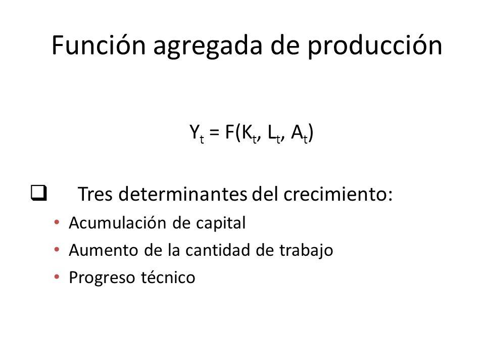 Función agregada de producción