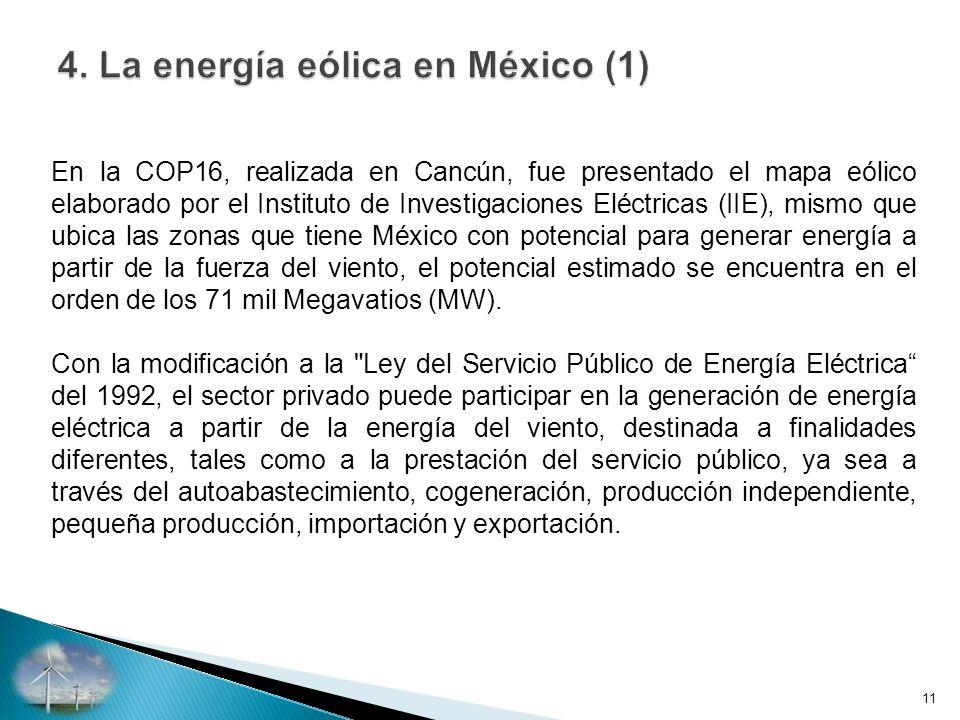 4. La energía eólica en México (1)