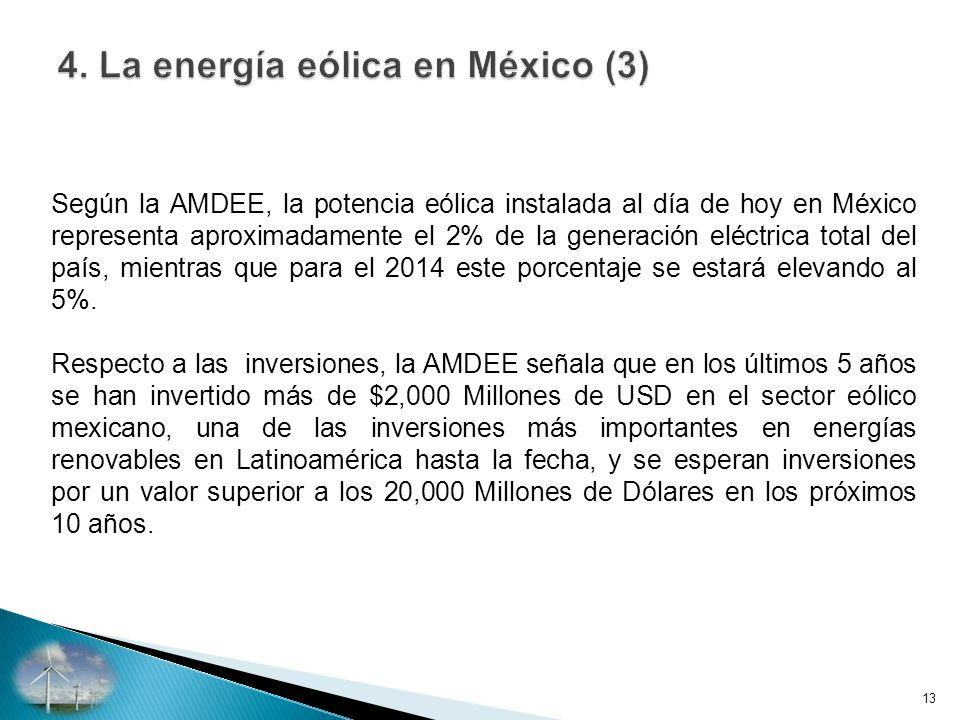4. La energía eólica en México (3)