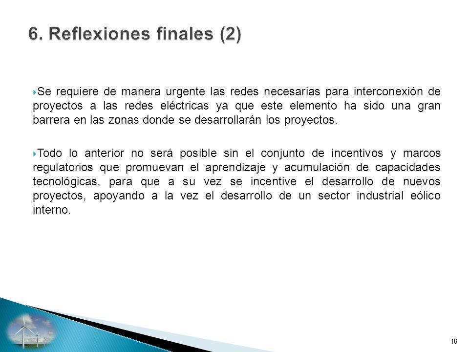 6. Reflexiones finales (2)