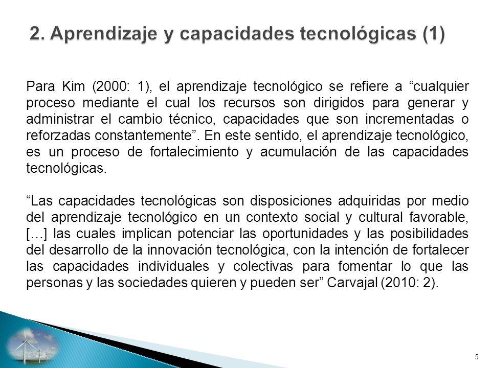 2. Aprendizaje y capacidades tecnológicas (1)