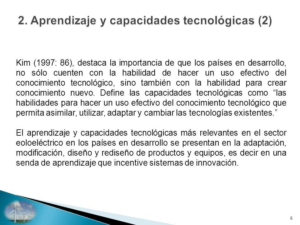 2. Aprendizaje y capacidades tecnológicas (2)