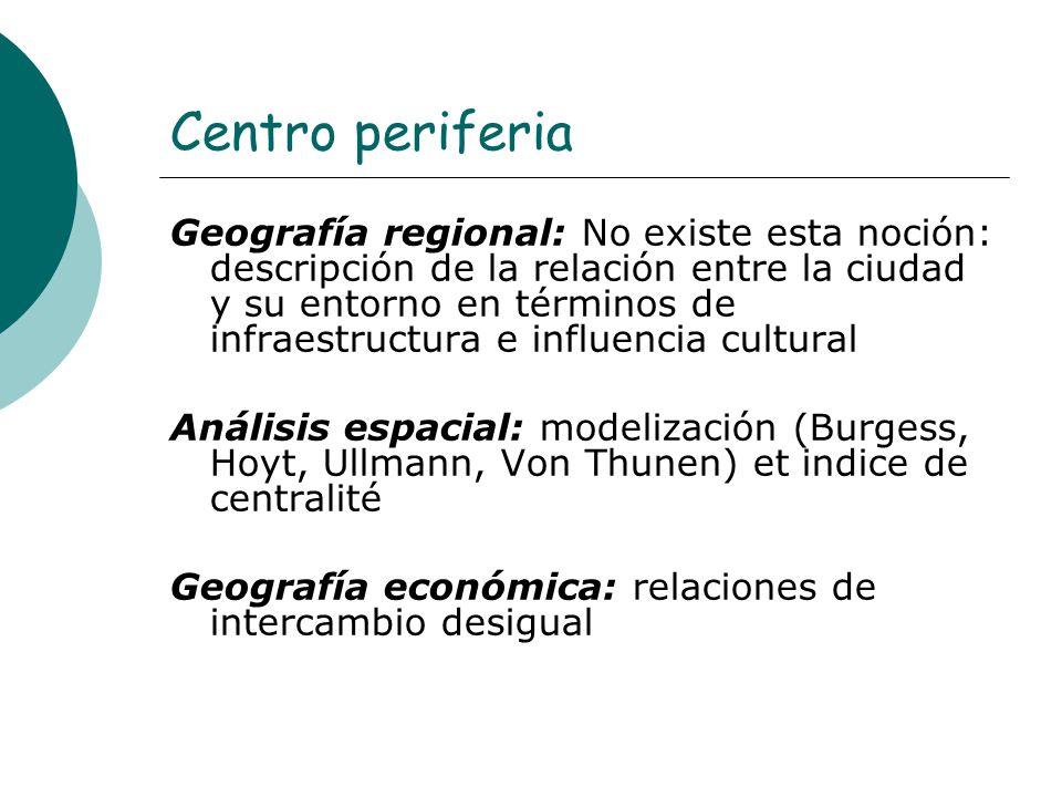 Centro periferia