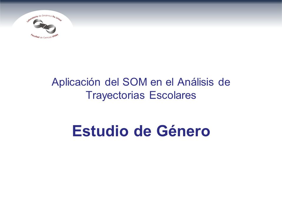 Aplicación del SOM en el Análisis de Trayectorias Escolares