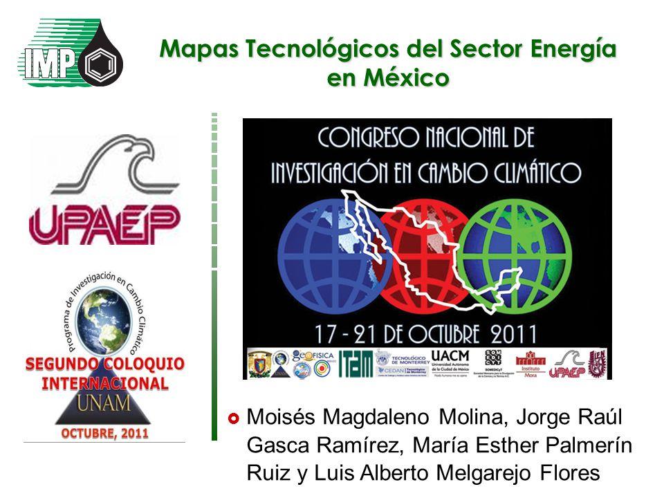 Mapas Tecnológicos del Sector Energía en México