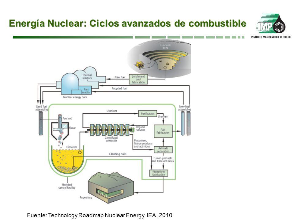 Energía Nuclear: Ciclos avanzados de combustible
