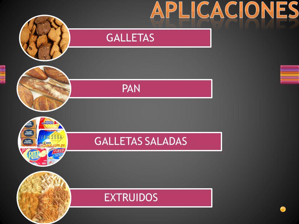 APLICACIONES GALLETAS PAN GALLETAS SALADAS EXTRUIDOS