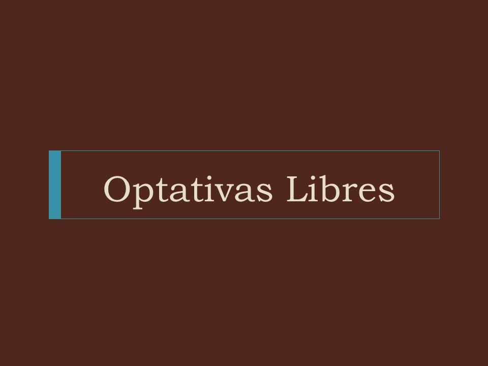 Optativas Libres