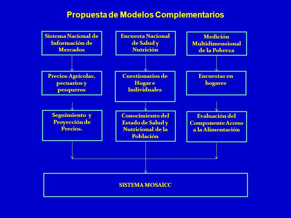 Propuesta de Modelos Complementarios