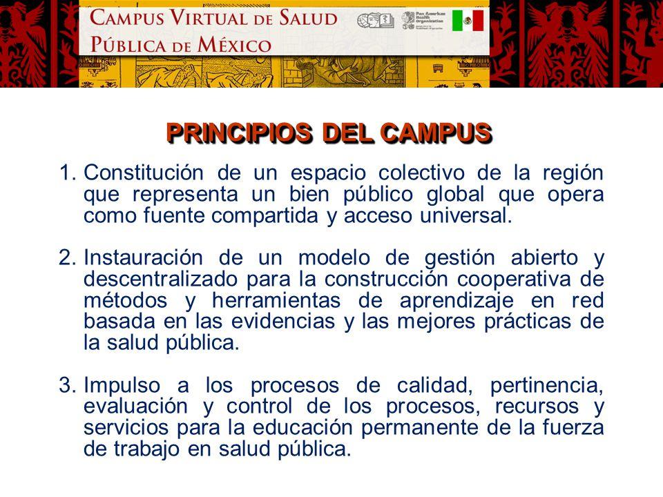 PRINCIPIOS DEL CAMPUS