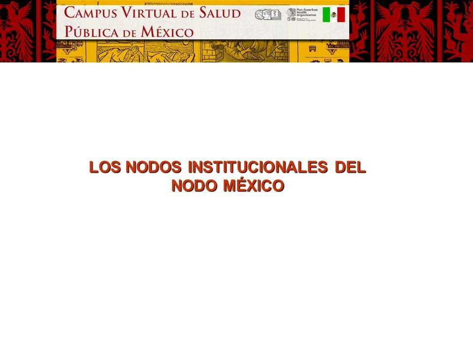 LOS NODOS INSTITUCIONALES DEL