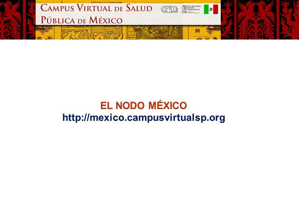 EL NODO MÉXICO http://mexico.campusvirtualsp.org