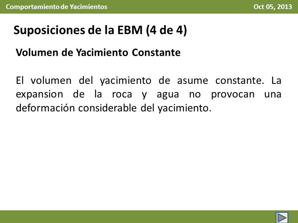 Comportamiento de Yacimientos Oct 05, 2013