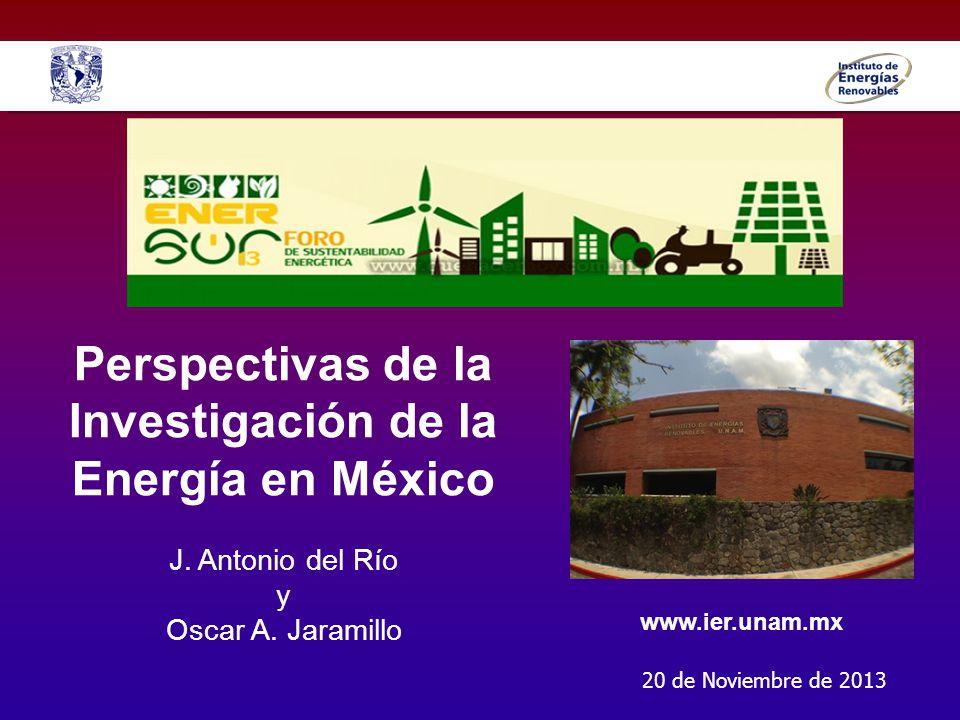Perspectivas de la Investigación de la Energía en México