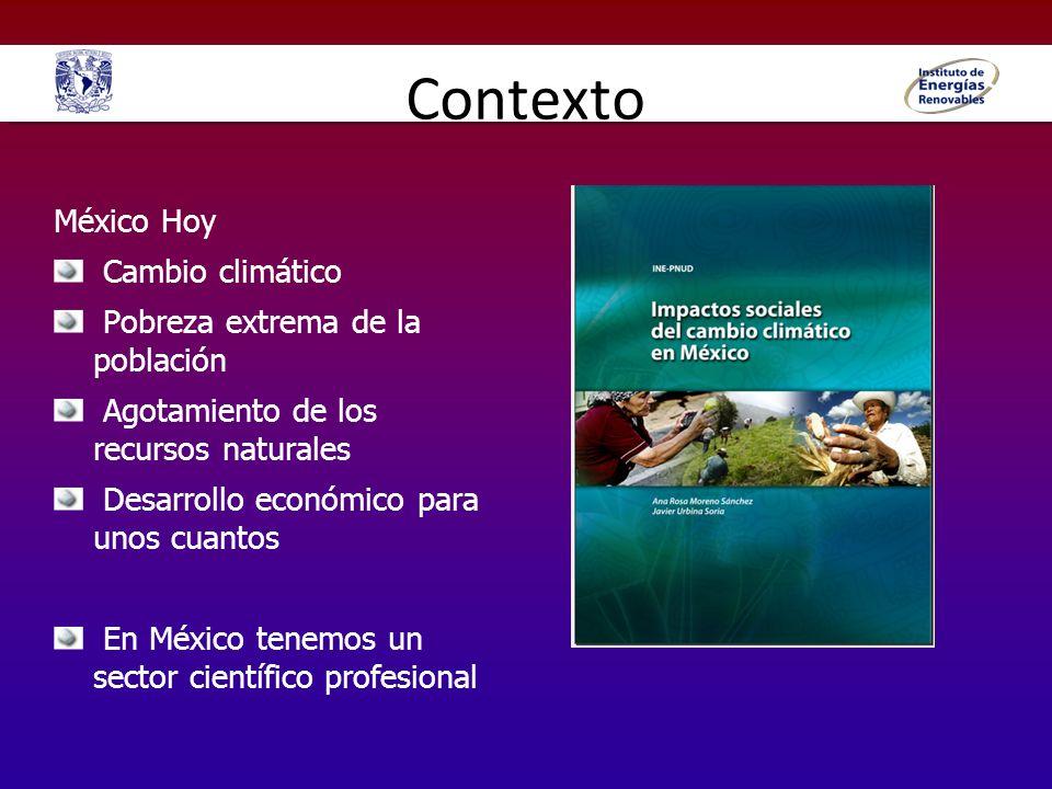 Contexto México Hoy Cambio climático Pobreza extrema de la población