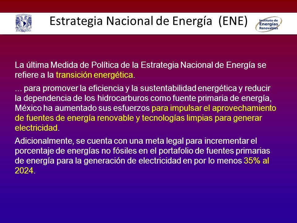 Estrategia Nacional de Energía (ENE)