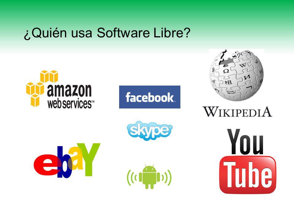 ¿Quién usa Software Libre