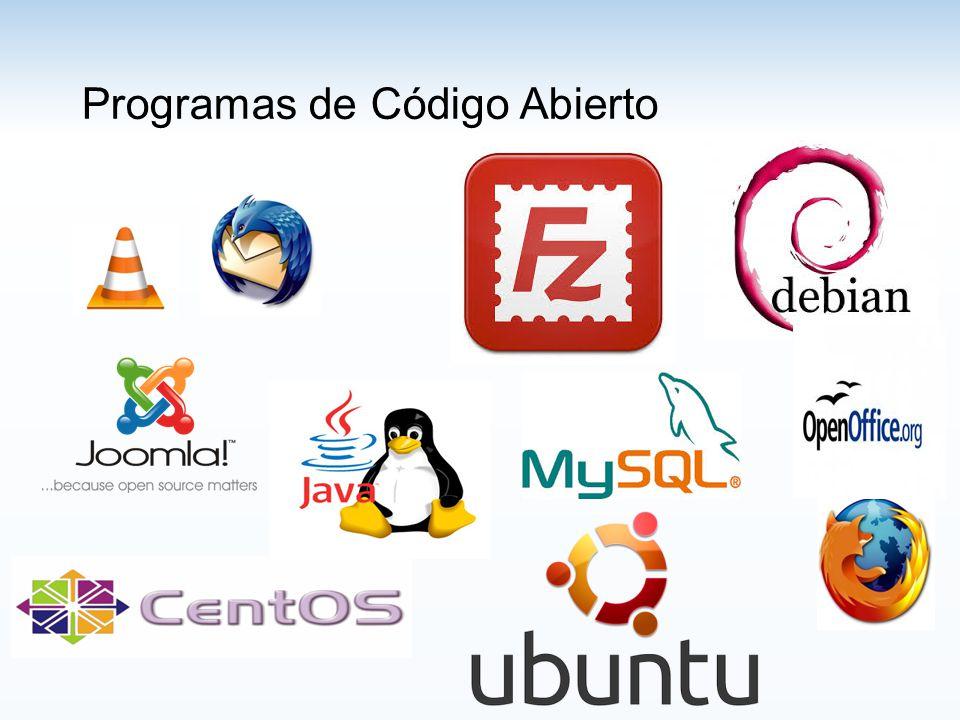 Programas de Código Abierto