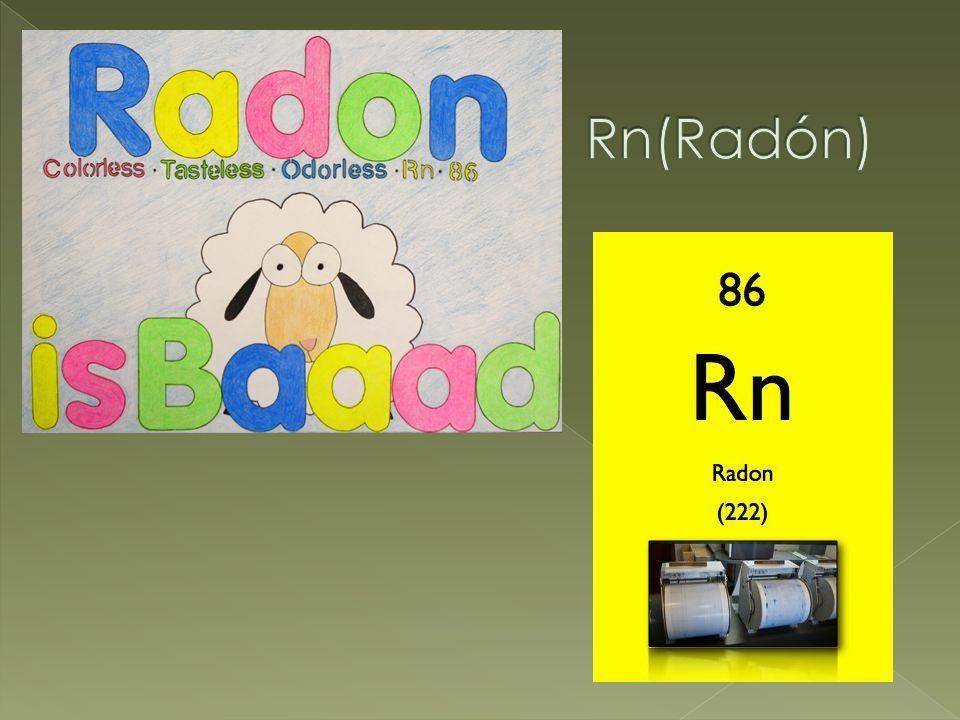 Rn(Radón)