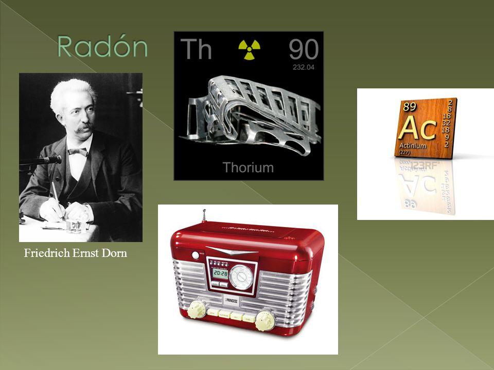 Radón Friedrich Ernst Dorn