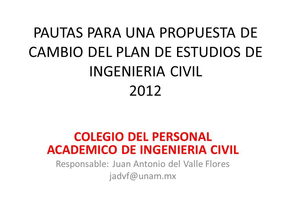 COLEGIO DEL PERSONAL ACADEMICO DE INGENIERIA CIVIL