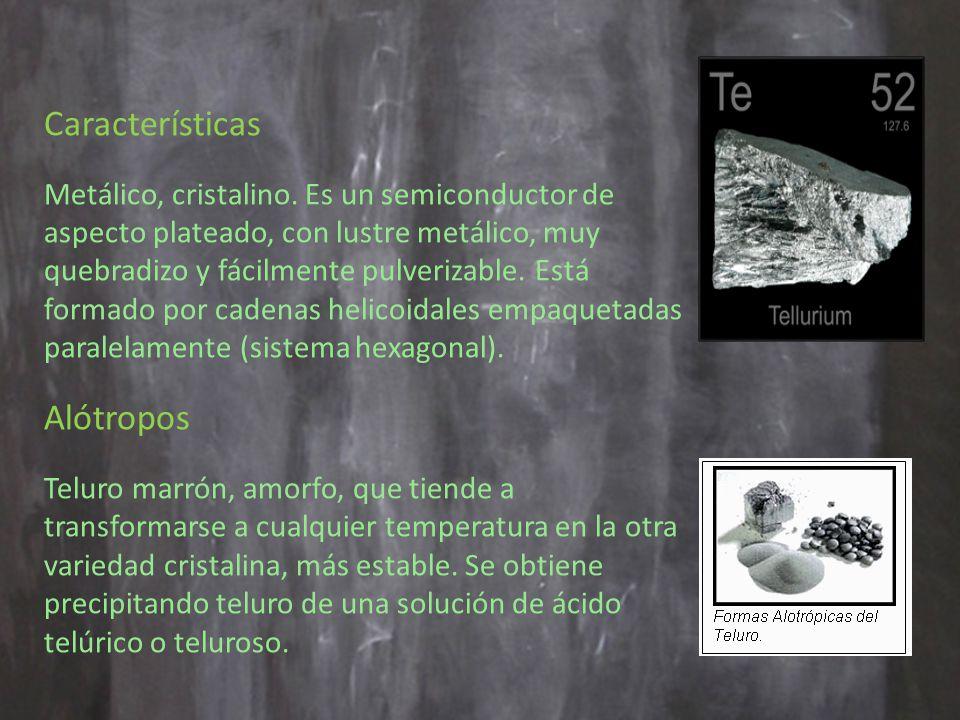 Características Alótropos