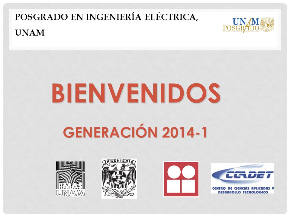 Posgrado en Ingeniería Eléctrica, UNAM