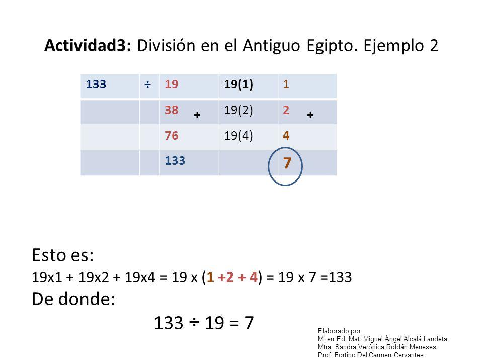 Actividad3: División en el Antiguo Egipto. Ejemplo 2