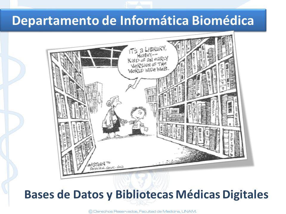 Departamento de Informática Biomédica