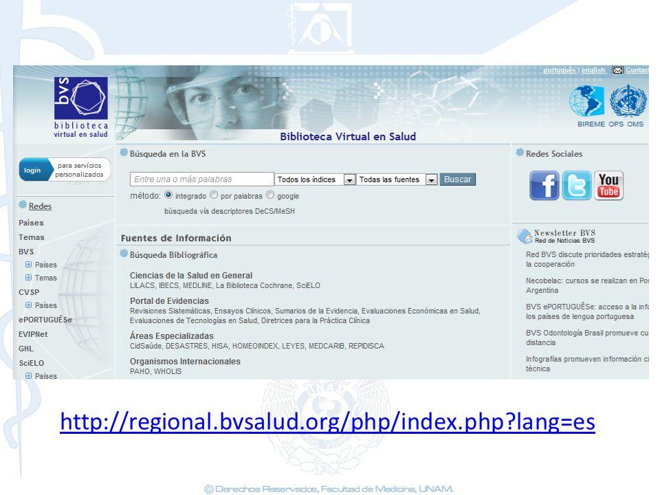 http://regional.bvsalud.org/php/index.php lang=es