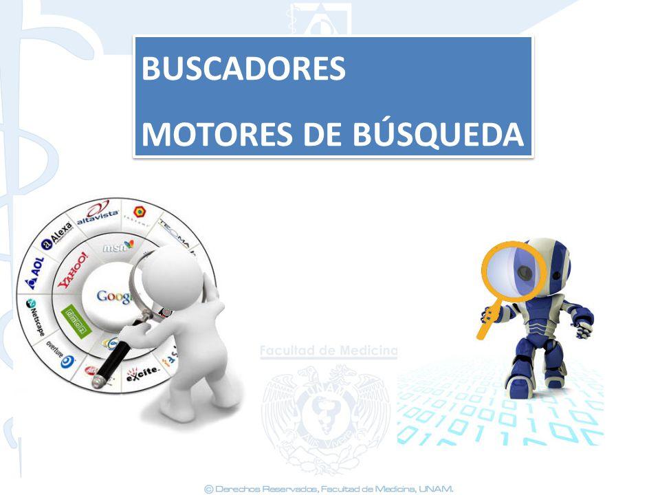 BUSCADORES MOTORES DE BÚSQUEDA